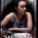 2018 Topps The Walking Dead Hunters & Hunted  Sacrifices Insert  #S-1  Sasha Williams  Retail Target