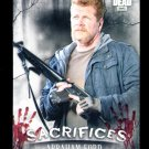 2018 Topps The Walking Dead Hunters & Hunted  Sacrifices Insert  #S-4  Abraham Ford  Retail Target