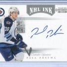 2011-12 Panini Contenders NHL Ink #68  Paul Postma