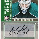 2008-09 ITG Between the Pipes Autograph Goaliegraph #A-CS  Cory Schneider