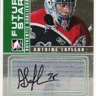 2008-09 ITG Between the Pipes Autograph Goaliegraph #A-AL  Antoine Lafleur