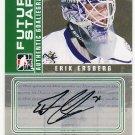 2008-09 ITG Between the Pipes Autograph Goaliegraph #A-EE  Erik Ersberg