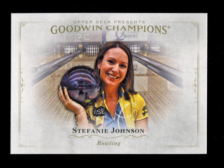 2016 Goodwin Champions #99  Stefanie Johnson