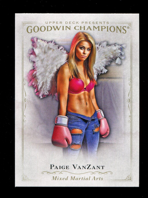 2016 Goodwin Champions #24  Paige VanZant
