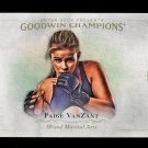 2016 Goodwin Champions #74  Paige VanZant