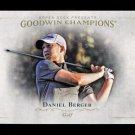2016 Goodwin Champions #79  Daniel Berger