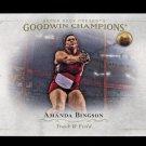 2016 Goodwin Champions #78  Amanda Bingson