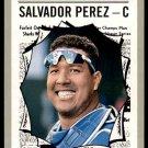 2019 Topps Baseball Heritage #351  Salvador Perez  All-Star