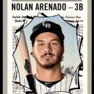 2019 Topps Baseball Heritage #365  Nolan Arenado  All-Star