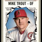 2019 Topps Baseball Heritage #357  Mike Trout All-Star