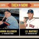2019 Topps Baseball Heritage Then & Now #TN-7 Harmon Killebrew  J.D. Martinez