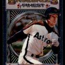 1993 Topps Baseball Finest #9  Steve Finley  Houston Astros