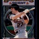 1993 Topps Baseball Finest #21  Todd Zeile  St. Louis Cardinals