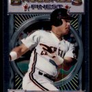 1993 Topps Baseball Finest #57 Carlos Baerga  Cleveland Indians
