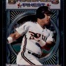 "1993 Topps Baseball Finest #57 Carlos Baerga  Cleveland Indians  ""B"""