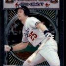 "1993 Topps Baseball Finest #118  Tim Wallach  Los Angeles Dodgers  ""B"""