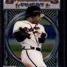 1993 Topps Baseball Finest #141  Deion Sanders  Atlanta Braves