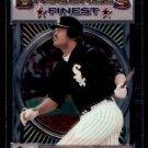 1993 Topps Baseball Finest #175  George Bell  Chicago White Sox