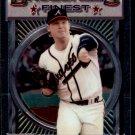 1993 Topps Baseball Finest #176  Mike Stanton  Atlanta Braves