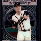 """1993 Topps Baseball Finest #176  Mike Stanton  Atlanta Braves  """"C"""""""