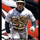 2021 Topps Fire Baseball  #191  Rickey Henderson