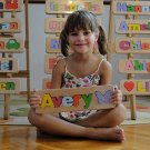 WOODEN PUZZLE NAME Avery