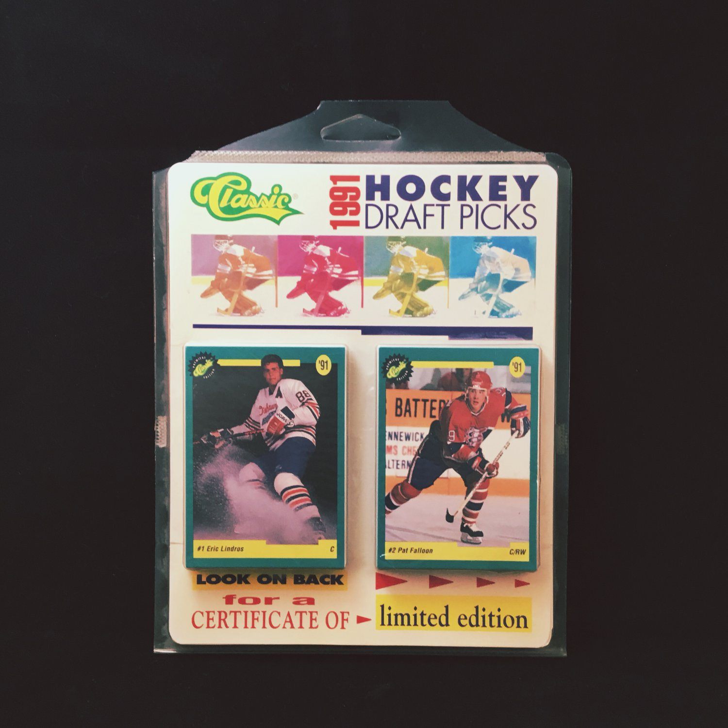1991 Hockey Draft Picks Cards 50 Set LIMITED EDITION