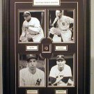 NEW YORK YANKEE LEGENDS CUSTOM FRAMED COLLAGE