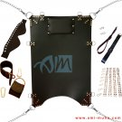 Top Quality Black Leather Bondage Adult Sex Sling Swing Complete Set