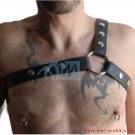 New Style Men's Leather Body Chest Harness