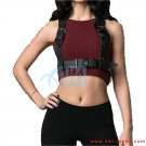 Bondage Ladies Casual Body Chest Handmade Leather Harness