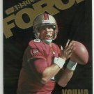 1999 Playoff Absolute SSD  Force Insert  # AF1  Steve Young  HOF'er