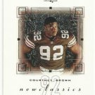 2000  SP Authentic   New Classics Insert   # 2   Courtney Brown