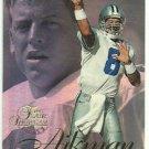 1997  Flair Showcase # Sec1/Row2/Seat8   Troy Aikman   HOF'er