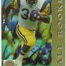 1993  Pro Set    All Rookies  Prism   # 3  Jerome Bettis  RC!   HOF'er
