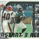 2000  Fleer Ultra  Instant 3 Play Insert   # 4  Fred Taylor