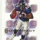 2000   SP Authentic  Supremacy Insert    # 2   Terrell Davis