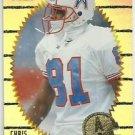 1996    Pinnacle Summit  Silver Foil Parallel  Refractor # 89   Chris Sanders
