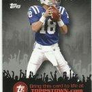2009   Topps    Topps Town Redemption Card    # TTT4   Peyton Manning