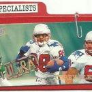 1997  Fleer Ultra   Specialist   Parallel  Insert    # 2   Terry Glenn
