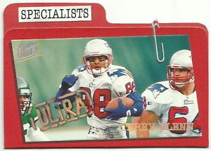 1997  Fleer Ultra   Specialist   Parallel  Insert    # 2   Terry Glenn