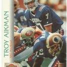 1992    Pro Set    # 401  Troy Aikman