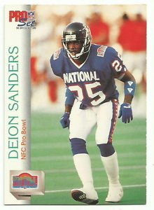 quality design d1bc6 e2964 1992 Pro Set Pro Bowl # 422 Deion Sanders