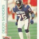 1992    Pro Set   Pro Bowl    # 422   Deion Sanders