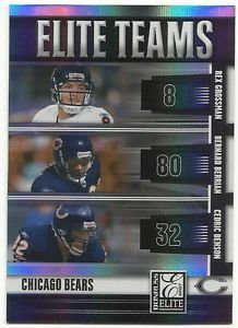 2007  Donruss Elite   Elite Teams Refractor  Chicago Bears  # ET6   Ser # ed