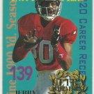 1995  Fleer Ultra  Ultra Achievement  Insert  # 5  Jerry Rice  HOF'er