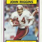 1983  Topps     Record Breakers   # 8   John Riggins