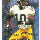 1996   Fleer Ultra  Gold Medallion   Pulsating Insert    # 9   Kordell Stewart