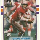 1989  Topps Traded   # 24T   Steve Young