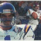 1995   Flair  # 117  Warren Moon    HOF'er!